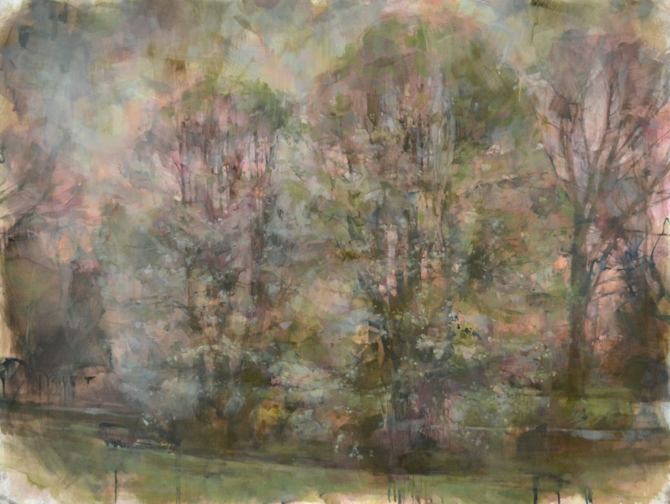We Become, 48x64, oil on panel, 2011